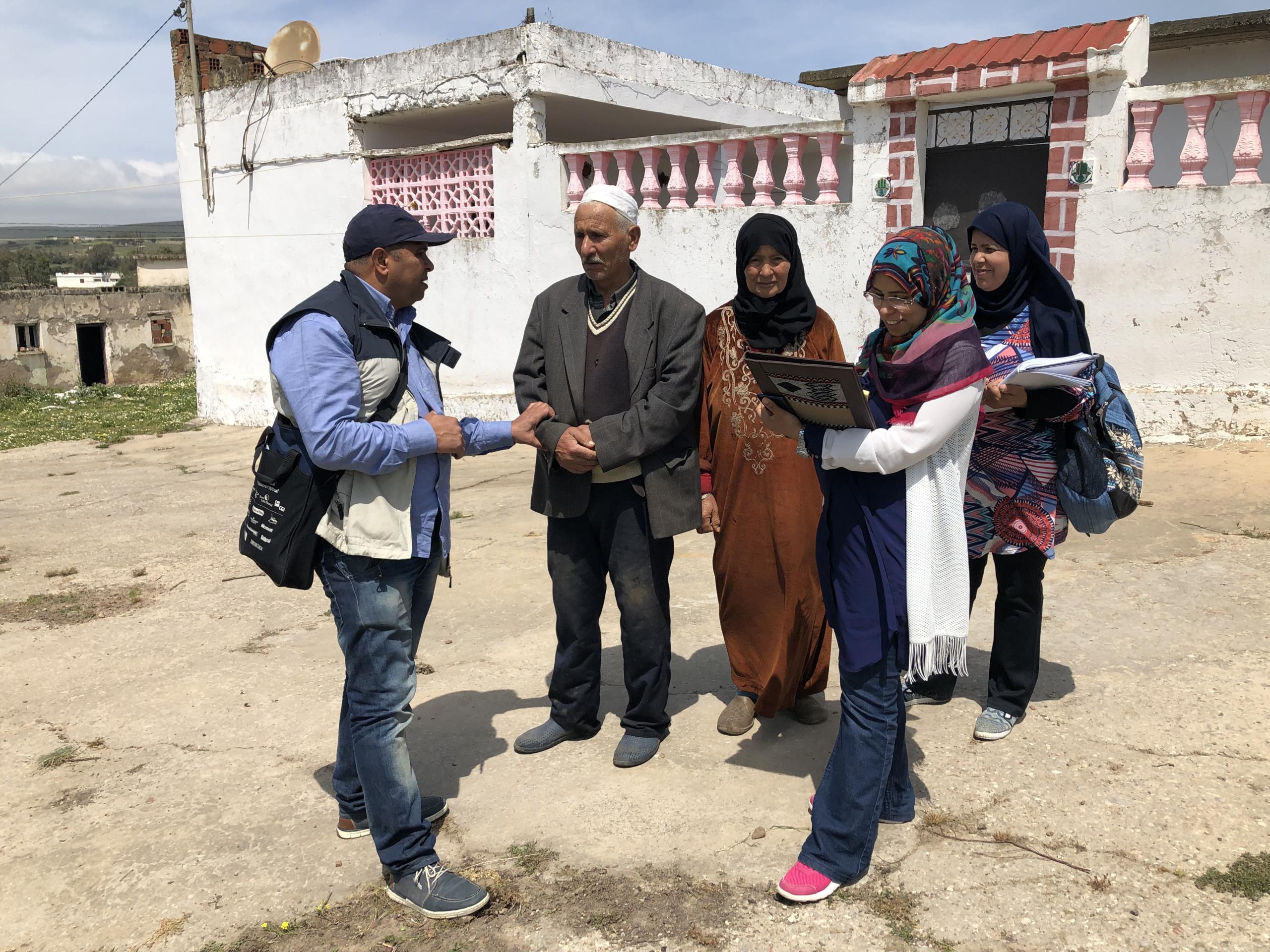 Programme d'adaptation au changement climatique pour les territoires vulnérables en Tunisie